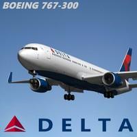 Boeing 767 300 Delta Air Lines