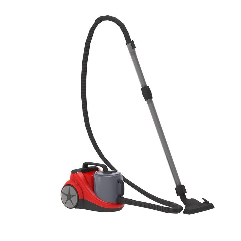 3ds max vacuum cleaner