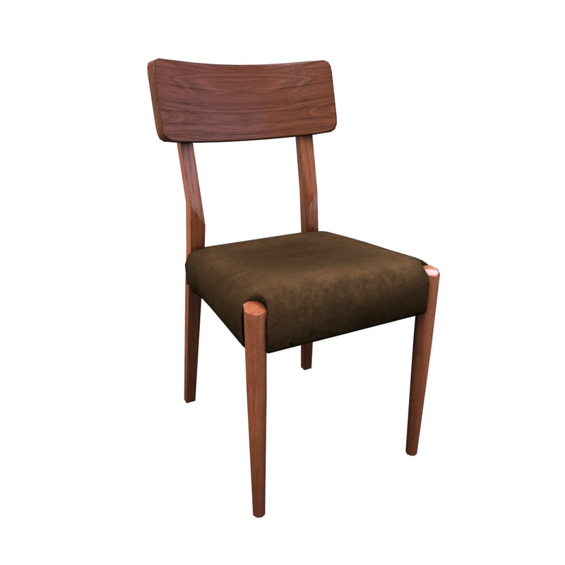 japanese chair 3d model