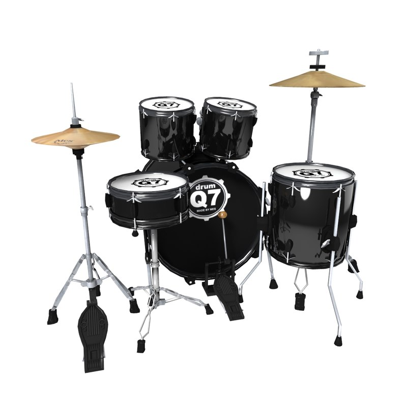 drums set obj