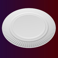 3ds max paper disposable plate