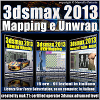 3dsmax 2013 Mapping e Unwrap Subscription