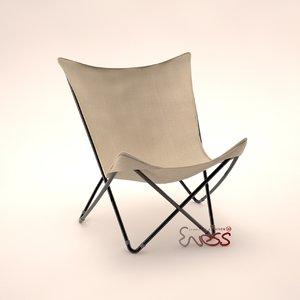 3d chair lafuma maxi pop