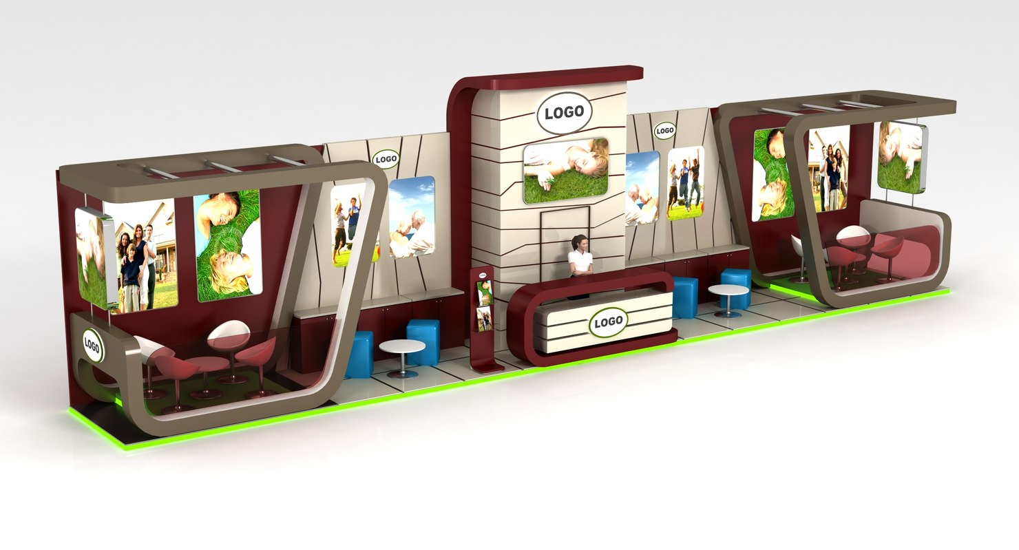 3ds exhibition stand