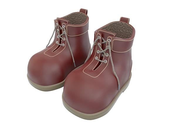 3d model children shoes