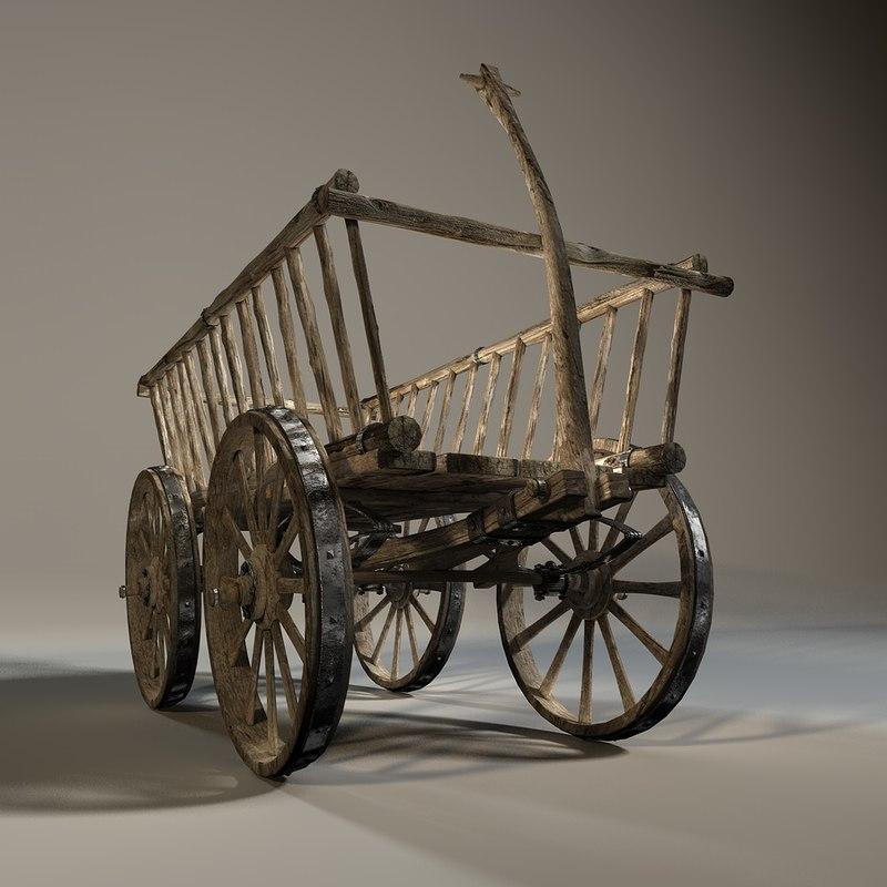 cinema4d old rack wagon