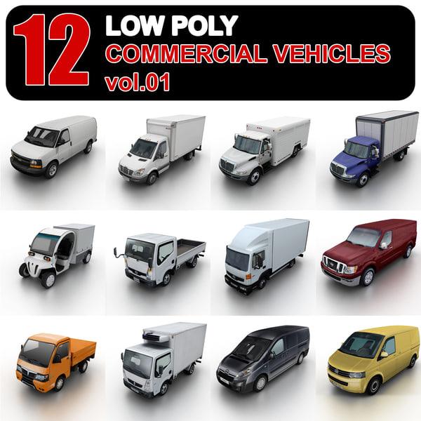 3d commercial vehicles 1