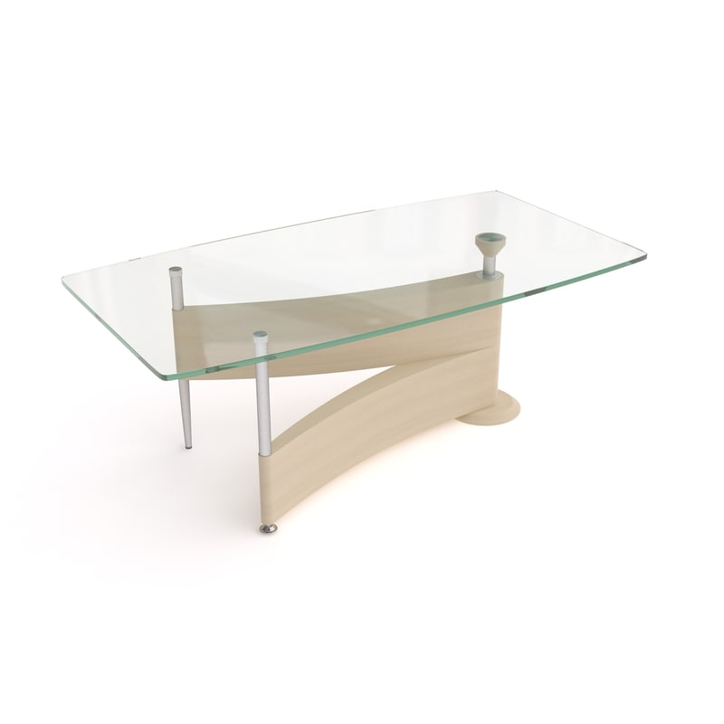halmar vera coffee table 3d model