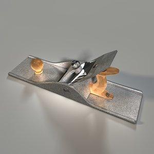 hand plane 3d model
