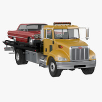 3d truck impala model