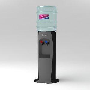 watercooler water cooler 3d model
