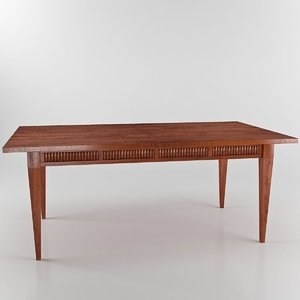annibale colombo c1221 dining table obj