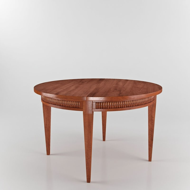 3dsmax annibale colombo c1243 table