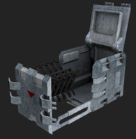 Scifi weapon crate