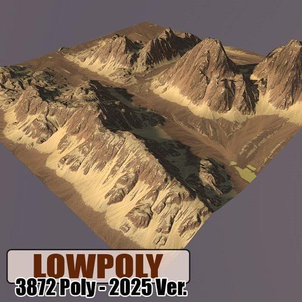 c4d mountain games maps