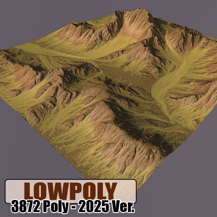 mountain games maps 3d c4d