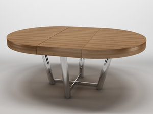 3d wooden table 1