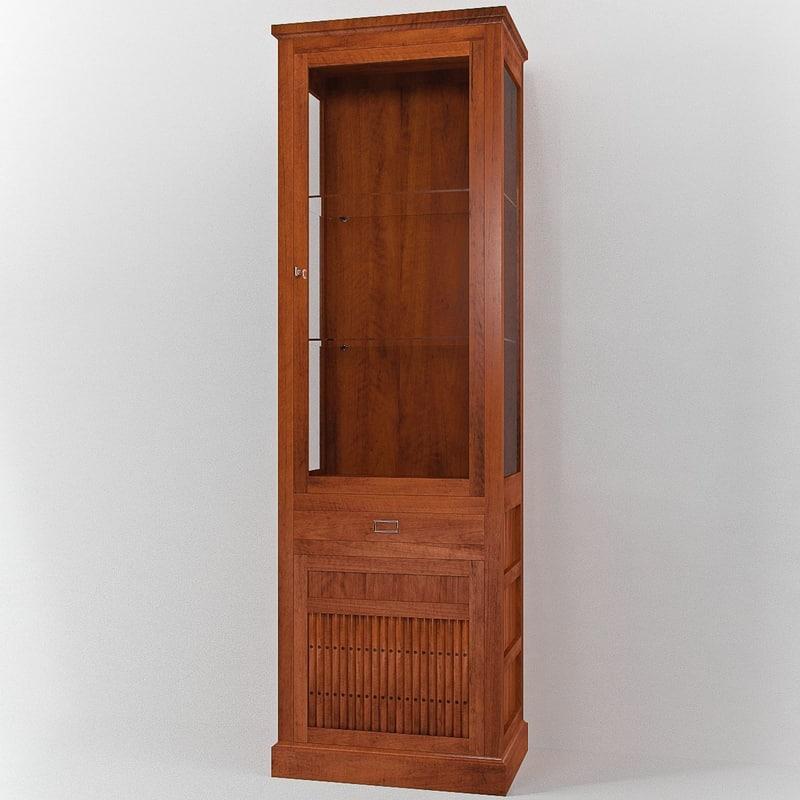 annibale colombo e1255 cabinet 3d 3ds