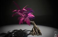 3d alien fern