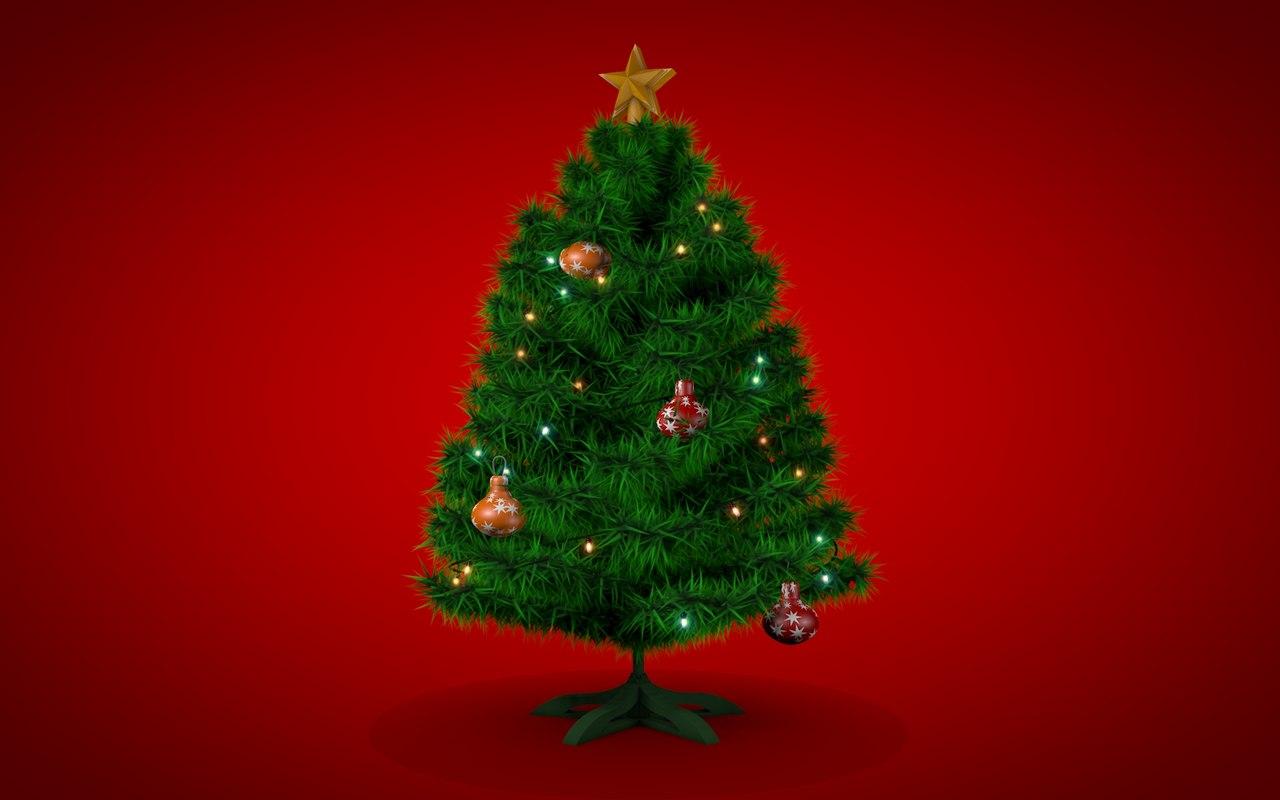 chrismas tree 3d model