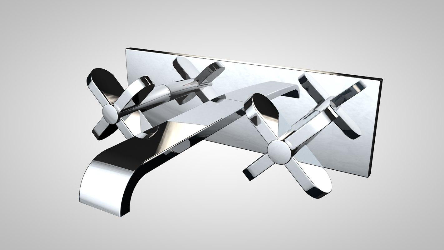 bath tap 3d model