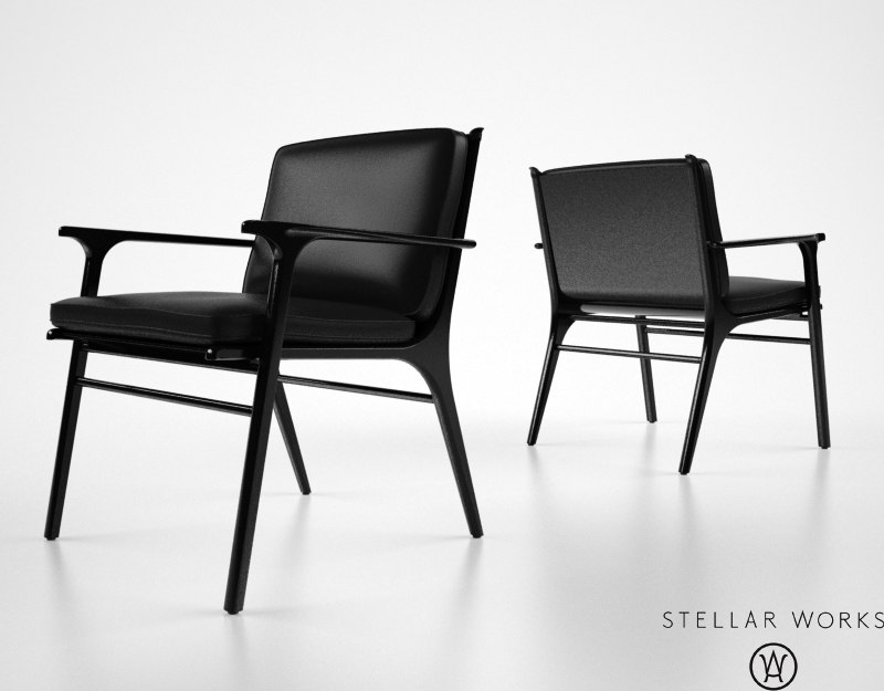 max stellarworks ren dining chair
