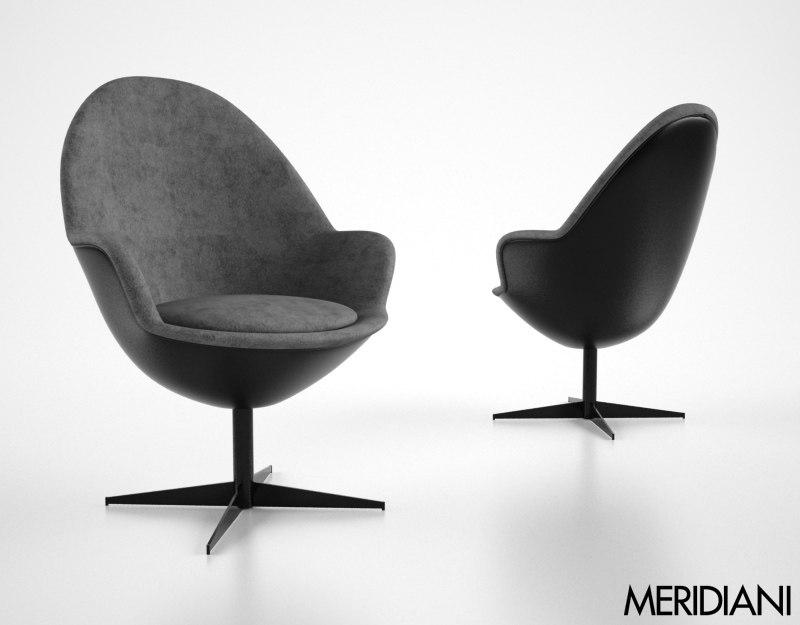 meridiani jill 3d model