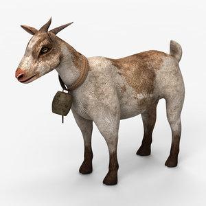 3d goat model