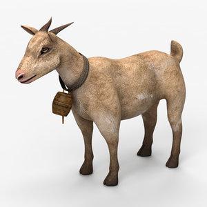 3d model goat