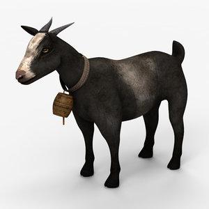 3d goat