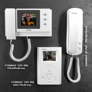 3d model commax video intercom