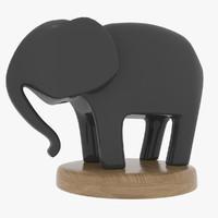 statue elephant 3ds