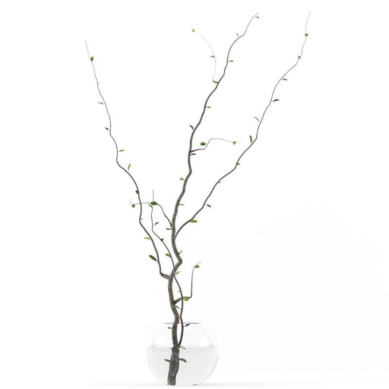 3d model of vase tree