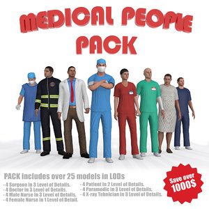 max ultimate medical people pack