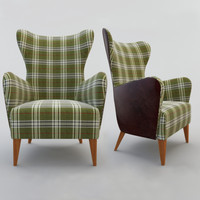 3d model armchair decoration