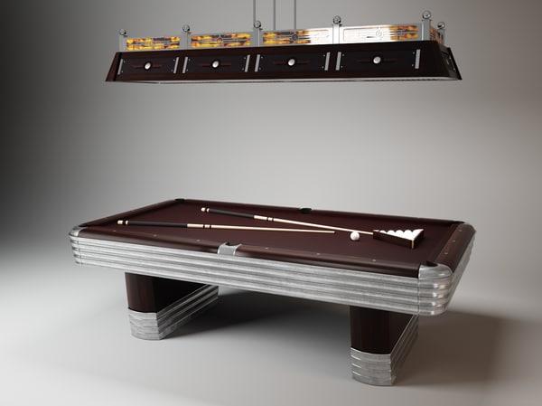 max centennial regulation pool table