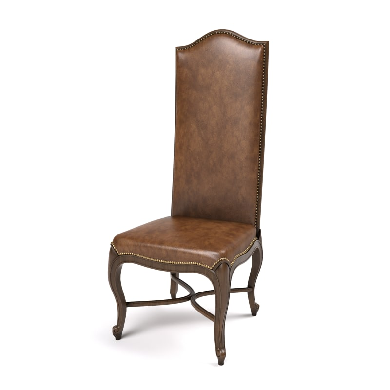 3d chair hooved french century model