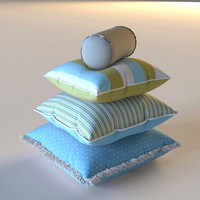 3d bedroom interior model