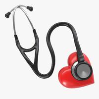 Stethoscope & Heart