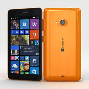 3d microsoft lumia 535 dual model