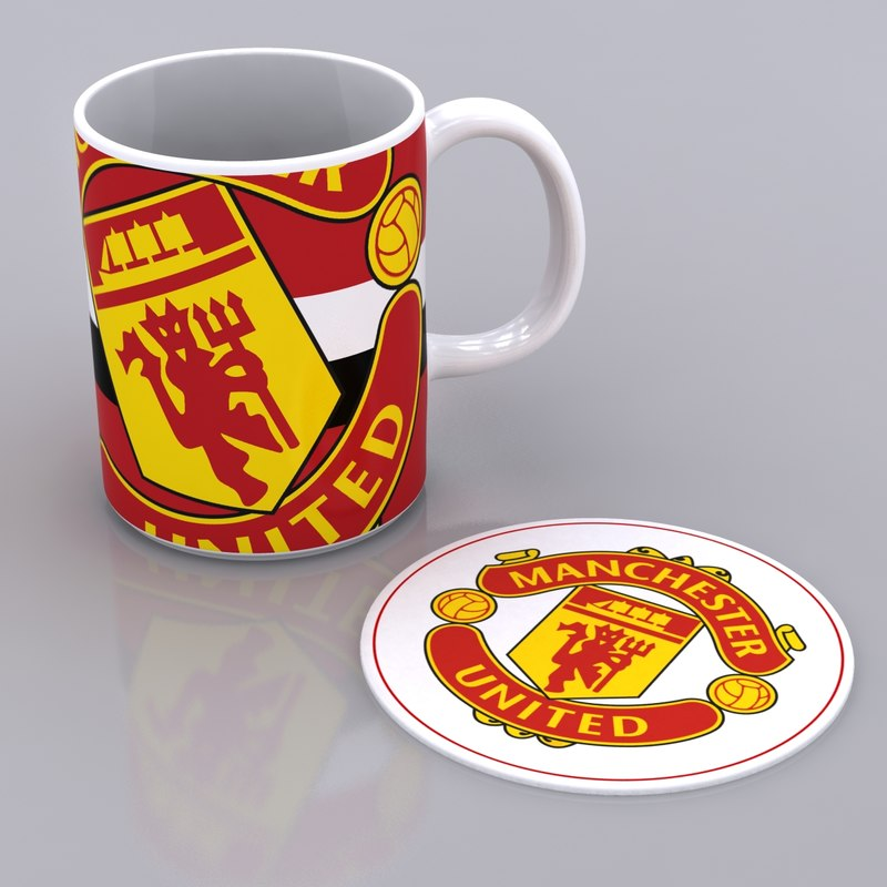 3d model mug mat manchester