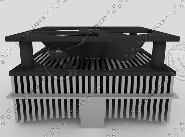 3d fan cooler