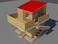 2 floor home model(1)