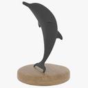 Dolphin Statue 3D models