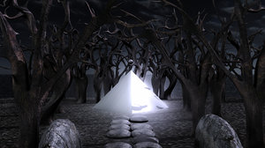 3ds max mysterious forest