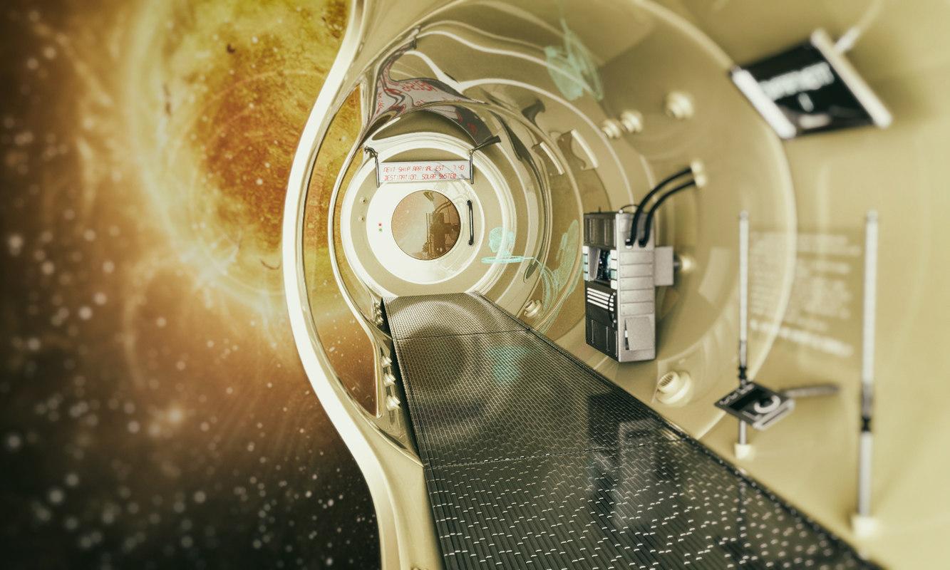 interior space 3d c4d
