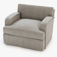 3d roxbury lounge chair