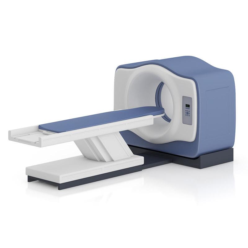 magnetic scanner 3d model