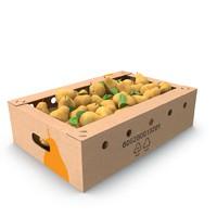 3d box pears model