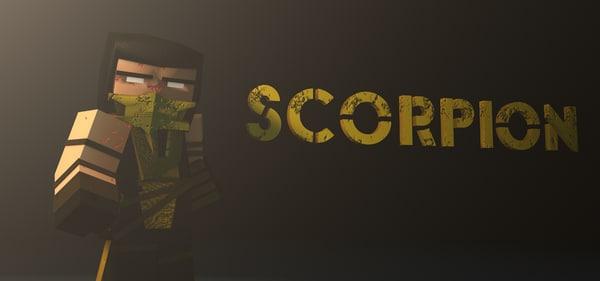 minecraft scorpion 3d c4d